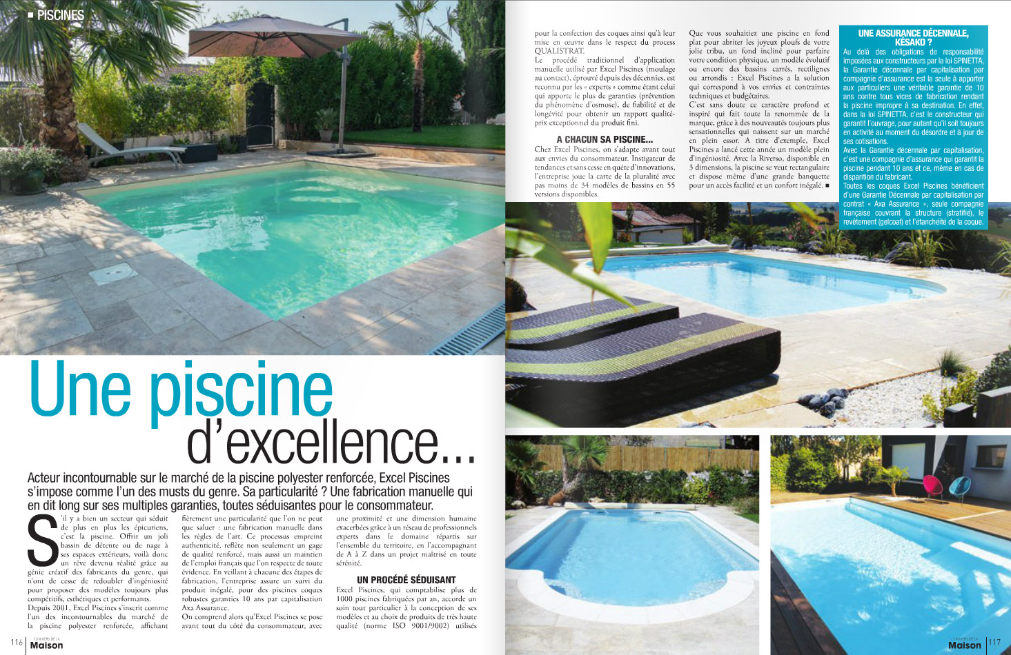 Articles de presse aubade votre piscine sur le var for Article piscine